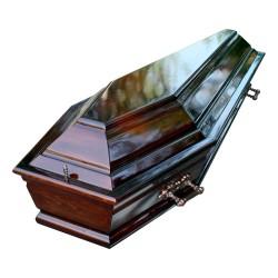 Гроб «Шестигранник» с крышкой