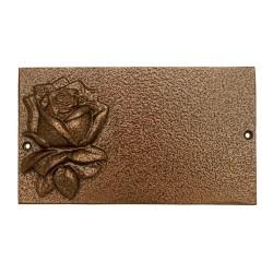 Табличка «Большая с розой»